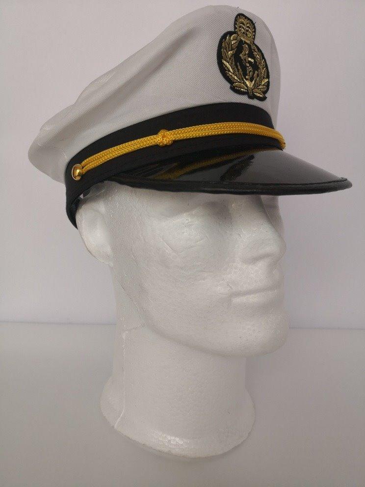 Gorra Capitan Sombrero Marinero General Marino Coronel -   14.900 en  Mercado Libre 379ae04db26