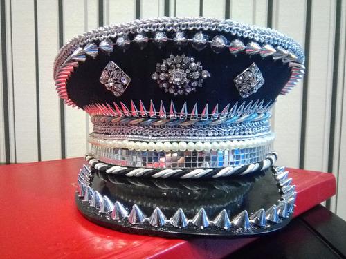 gorra captain - diseño - boda, 15 años fiesta- cotillón