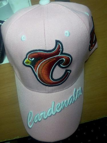gorra cardenales de lara dama