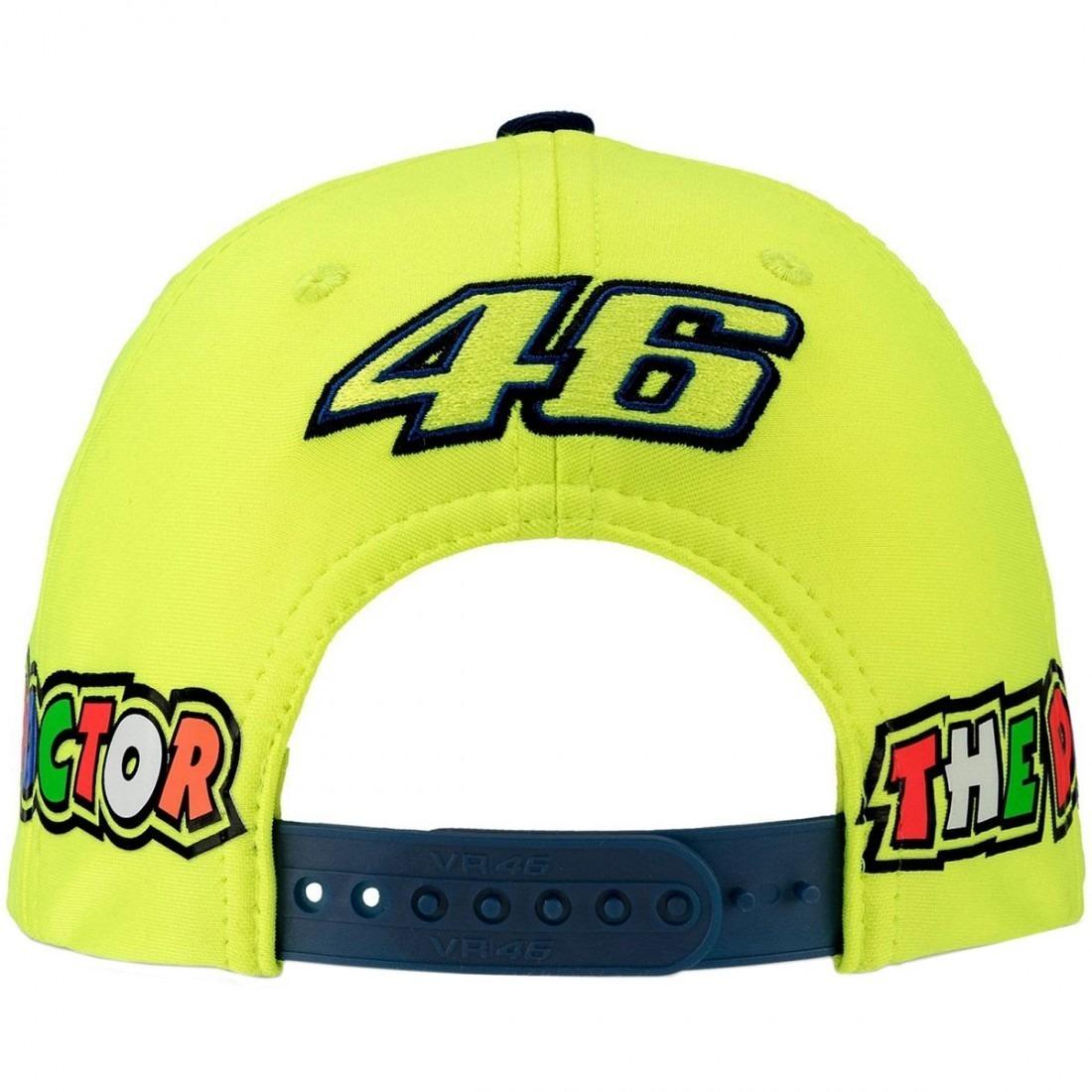 Gorra Casual Vr46 Yamaha Para Niños Valentino Rossi -   819.00 en ... f20cc146a24