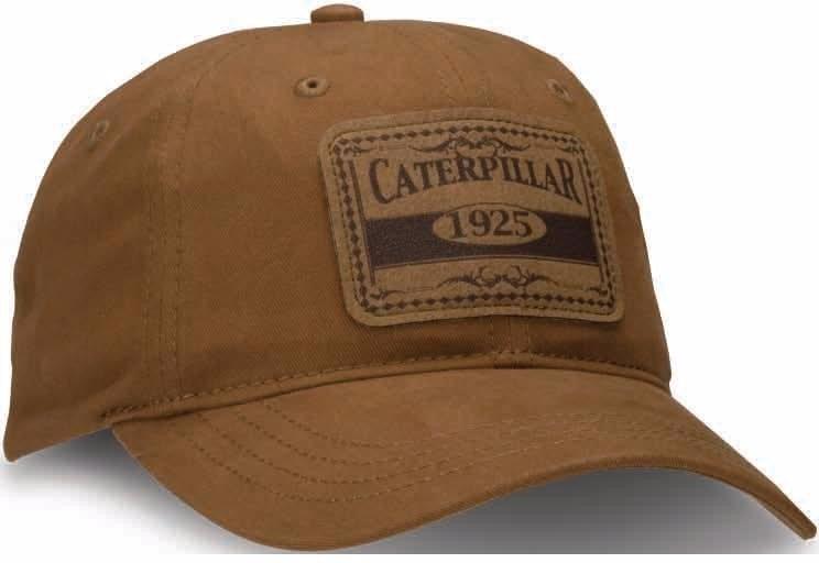 Gorra Caterpillar Cafe C  Parche Nueva Original Cat Bordada ... 747982e644c