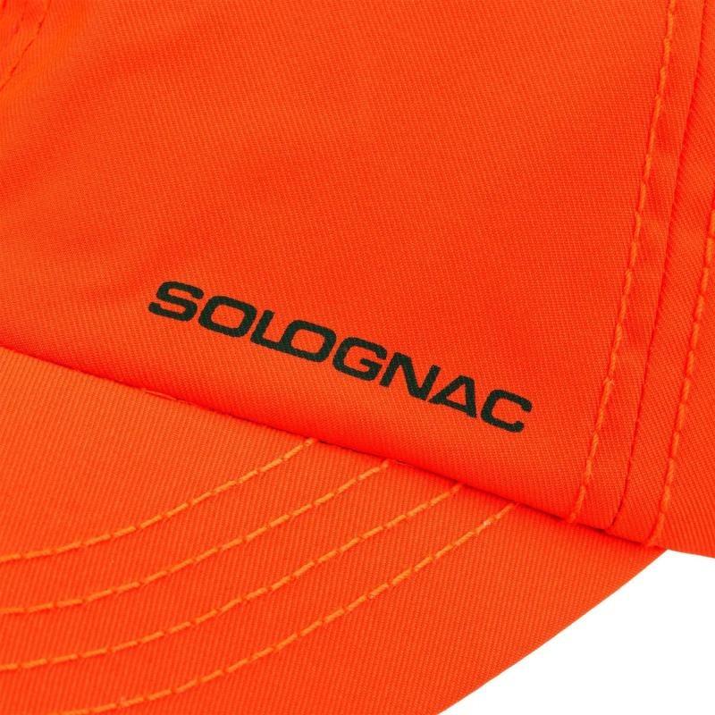 b515a0a1f836a gorra caza naranja 100 solognac. Cargando zoom.