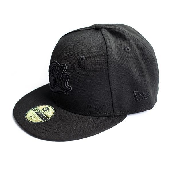 Gorra Charros Black 5950 New Era Original. 5723 -   656.00 en ... ef5d85507ba