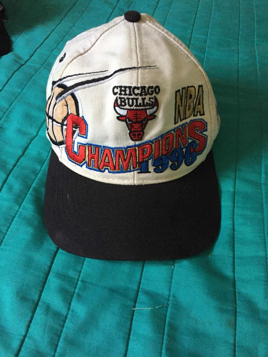 gorra chicago bulls logo athletic 90s campeones 1996 nba. Cargando zoom. 6be39f0131d