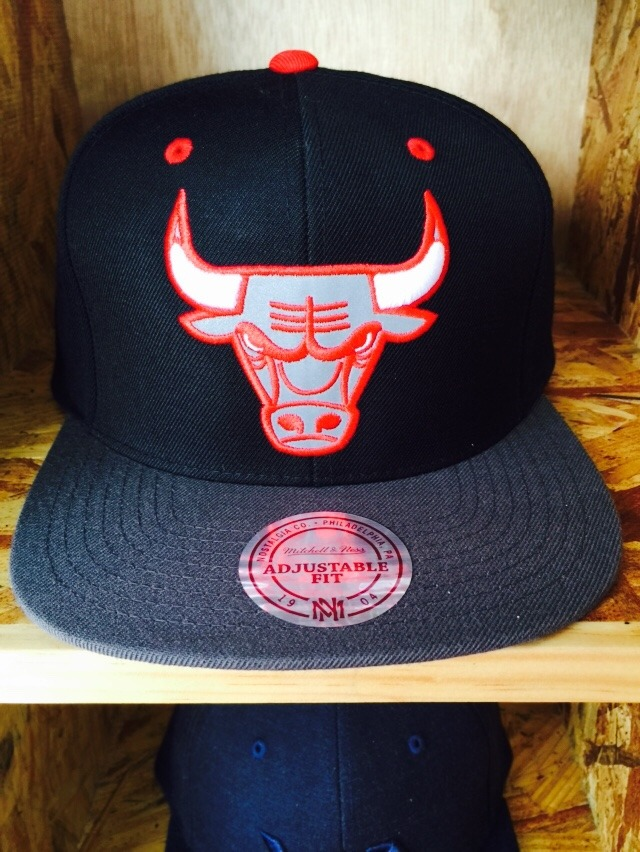 Gorra Chicago Bulls Mitchell And Ness 100% Orihinal -   559.00 en ... 4267aa99715