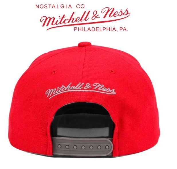 43c2943465943 Gorra Chicago Bulls Mitchell   Ness Snapback Nueva Original - S  120 ...