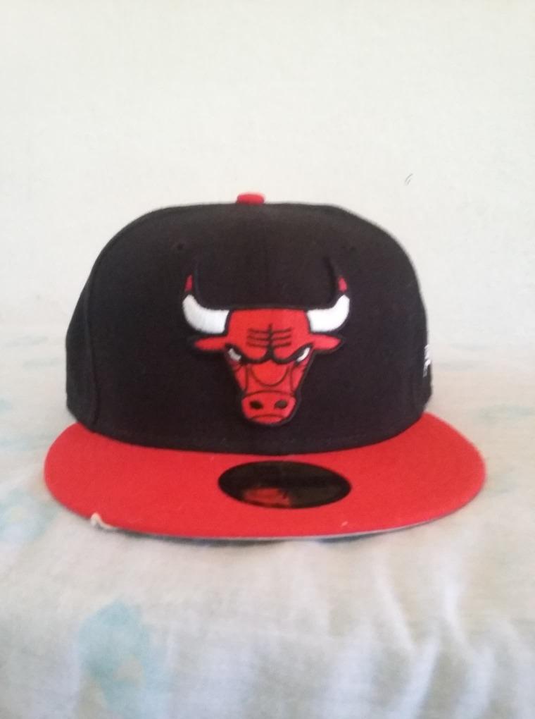 Gorra Chicago Bulls Negro rojo New Era 59fifty 7 1 2 -   599.99 en ... 54a08c6c474