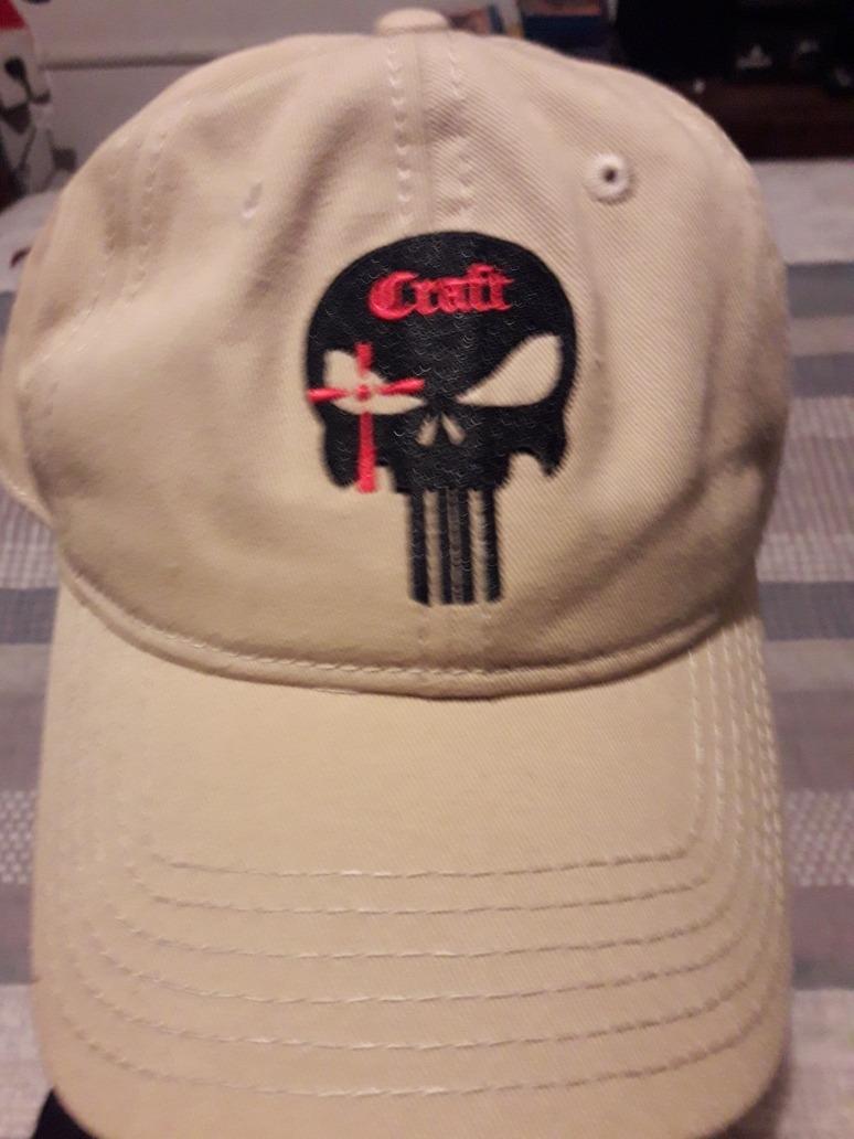 Gorra Chris Kyle  el Francotirador logo De Punisher Compañia