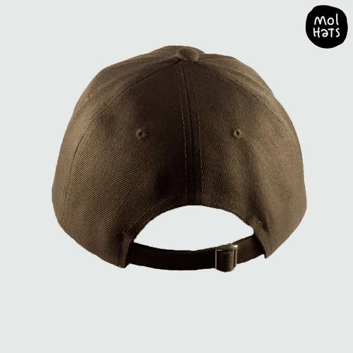 gorra clásica tipo baseball golf alta visera curva 6 gajos gabardina calidad premium