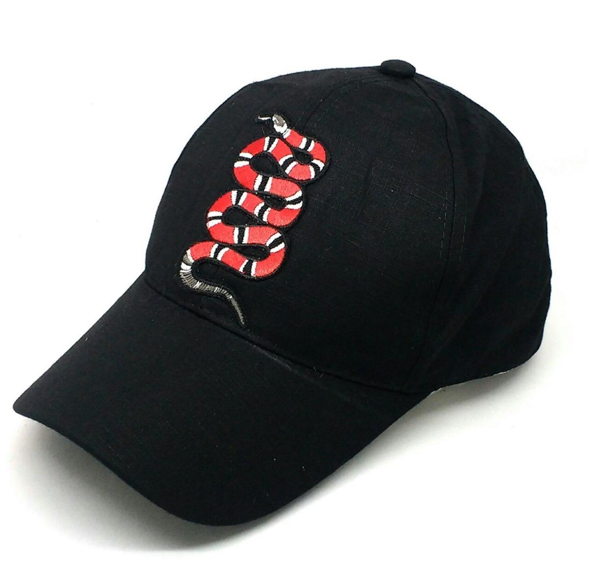 gorra con bordado de calidad serpiente de gucci fotos reales. Cargando zoom. 0e4ed61889d