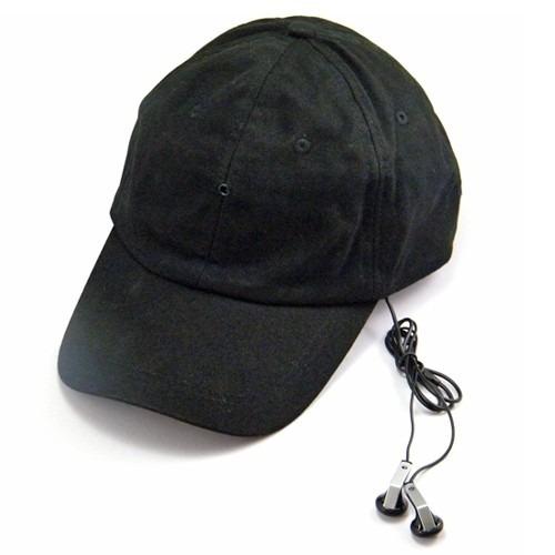 gorra con camara espia oculta hd 720p de 8gb mp3 bluetooth