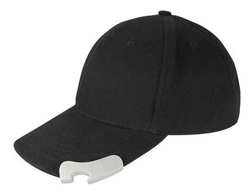 gorra con destapador en visera broche velcro