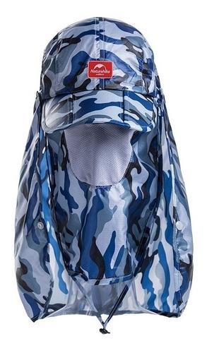 gorra con protección, impermeable, camuflada, ultraplegable.