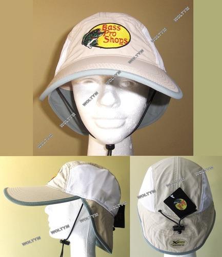 gorra con solapa bass pro shops pesca camping tenis deportes