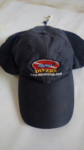 gorra con solapa squalosub buceo pesca / 13