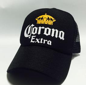 4e191397c8e7 Gorra Corona Estilo Trucker Negra!! Excelente Calidad