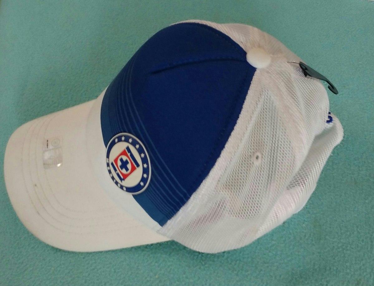 505f8e34c1f5e Gorra Cruz Azul Nueva Y Original Blanca Y Azul -   165.00 en Mercado ...