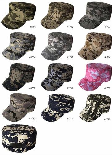 gorra cubana camuflaje o chachomon camuflaje y pixel