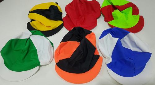 gorra cubre casco de jockey turf carrera caballos
