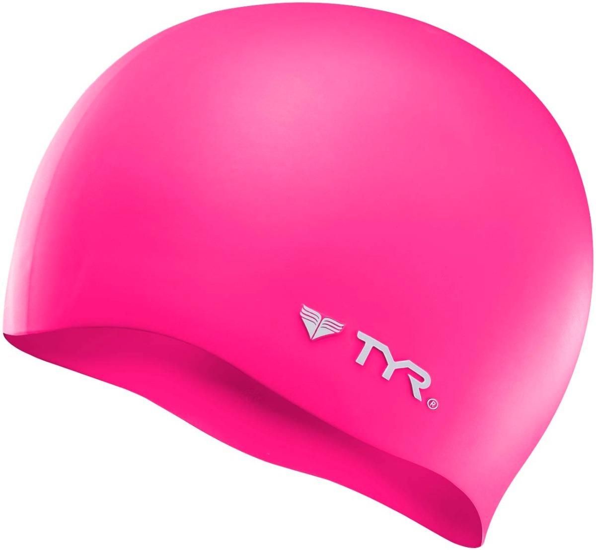 gorra de baño tyr wrinkle-free silicone swimcap rosa blanco. Cargando zoom. 3579b39c4d9