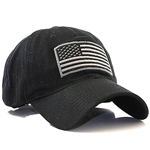 18278fbf8502b Gorra De Béisbol De La Bandera Americana Ee.uu. Operador Mil ...