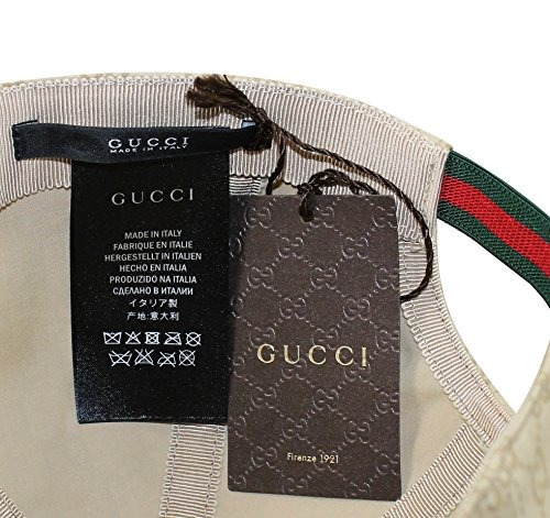 Gorra De Béisbol Gucci Con Revestimiento De Algodón Y Forr -   1.673 ... 93216cc2c3b