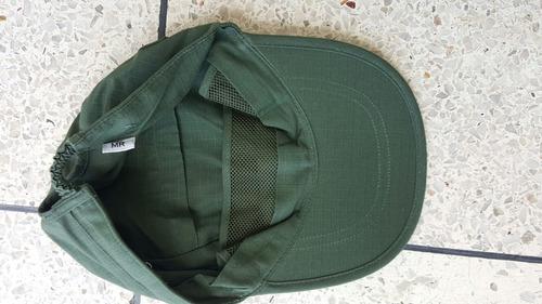gorra de campaña nueva
