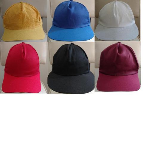 gorra de color economica 5 gajos gabardina campaña politica