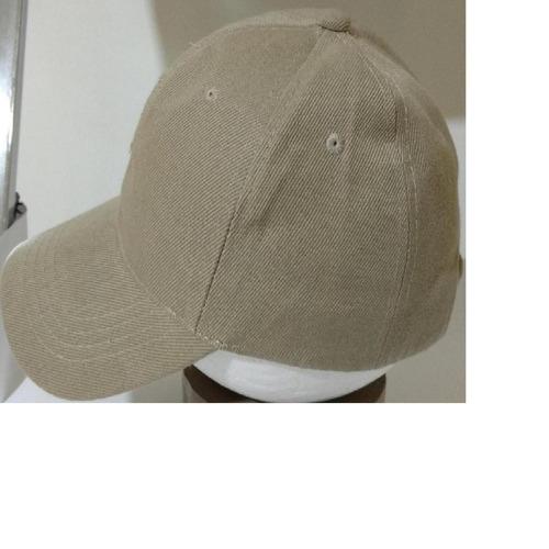gorra de color economica 6 gajos acrilico para niño
