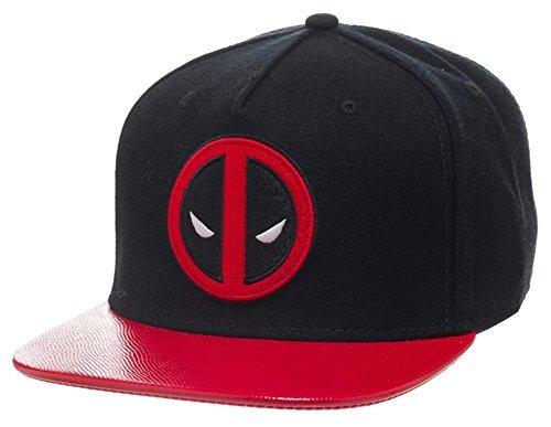gorra de deadpool de marvel