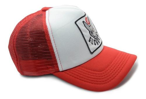 gorra de  el chacal - parche gris