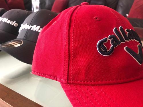 gorra de golf callaway roja
