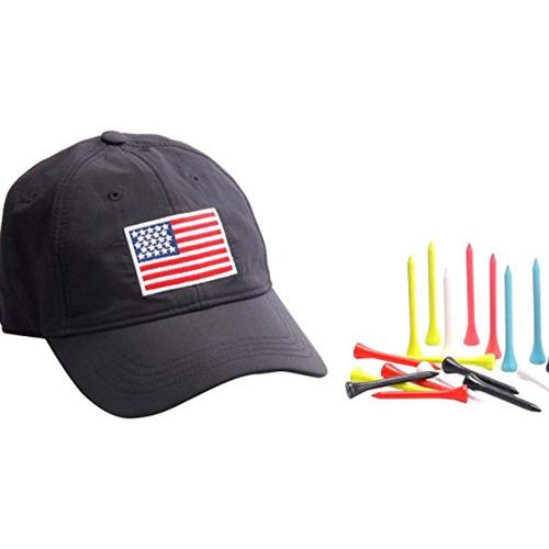 gorra de golf y 30 golf tees promoción estacional