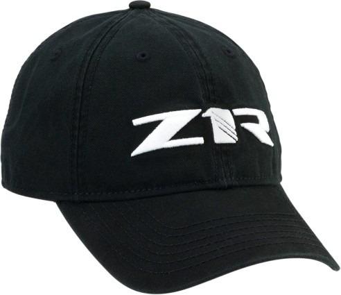 gorra de hombre c/cierre atrás z1r negra/blanca