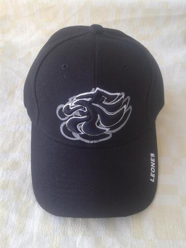 gorra de los leones del caracas, modelo leo-10