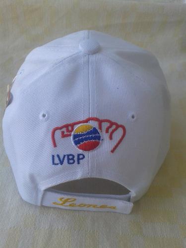 gorra de los leones del caracas, modelo leo-14