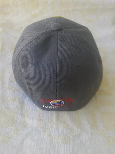 gorra de los leones del caracas, talla 7, modelo leo-04