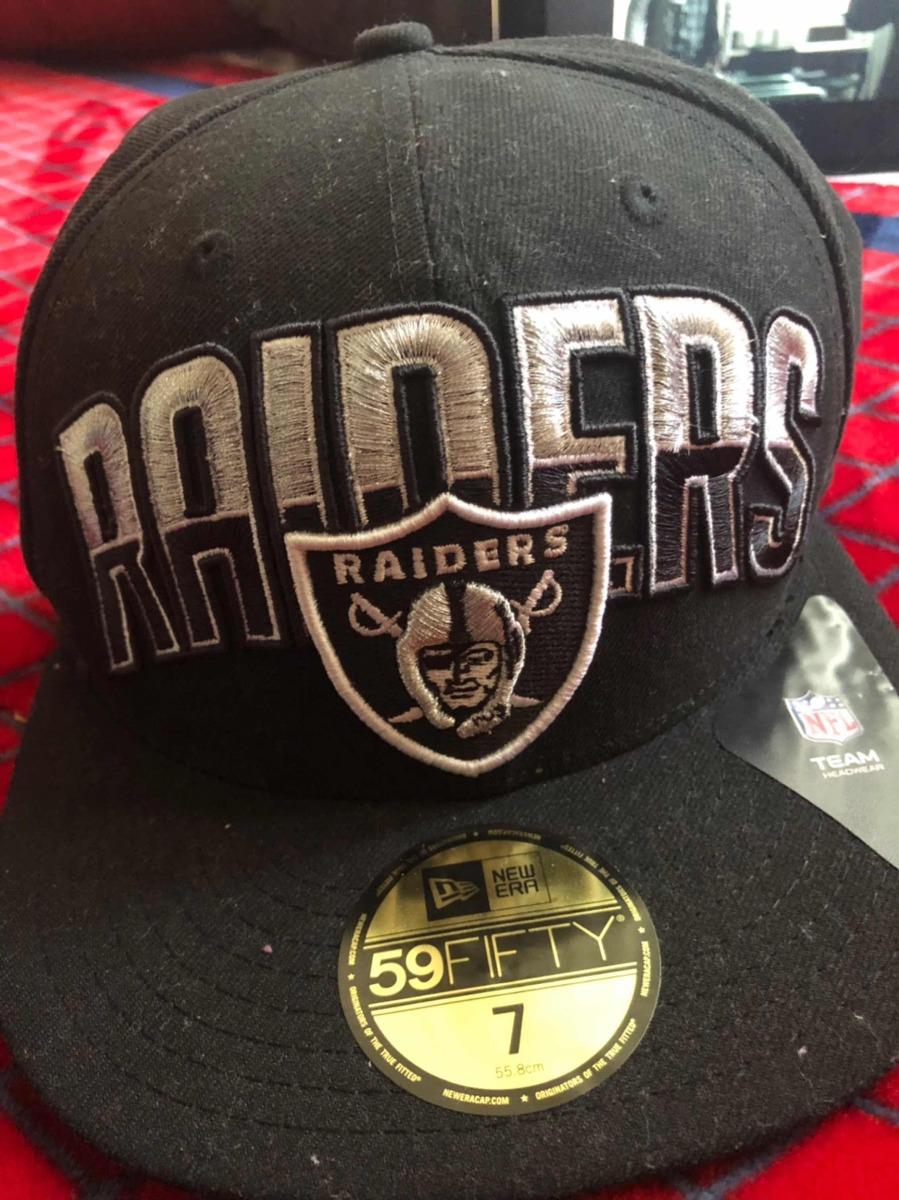 Gorra De Los Raiders Oakland Talla 7 -   599.00 en Mercado Libre 11574d6d813