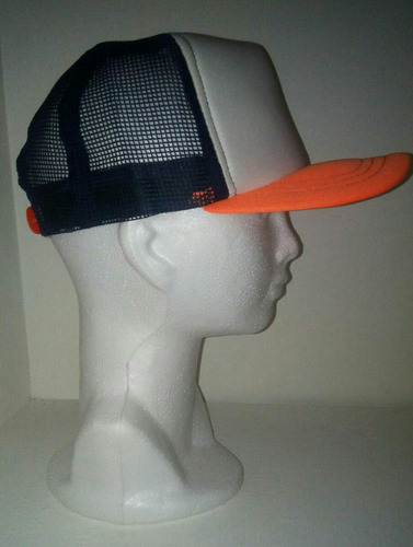 gorra de malla lisa o combinada fabricación de color especia