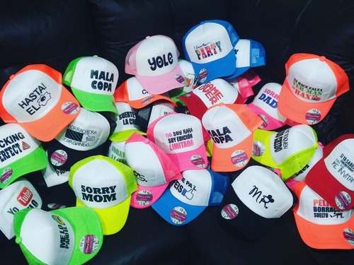 gorra de malla para evento
