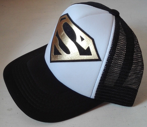 gorra de malla superman