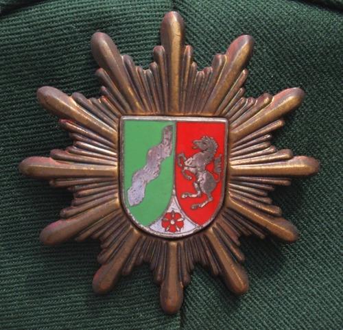 gorra de policia nacional alemania renania westfalia norte