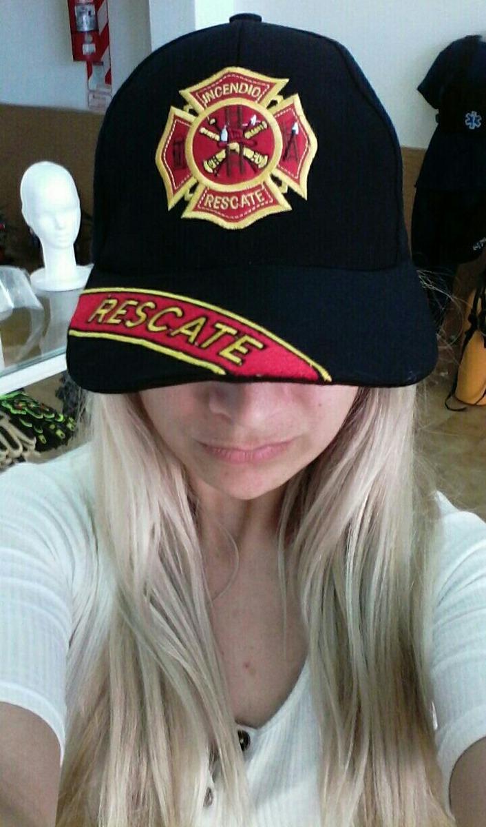 gorra de rescate bordada para bomberos. Cargando zoom. e72a36696b1