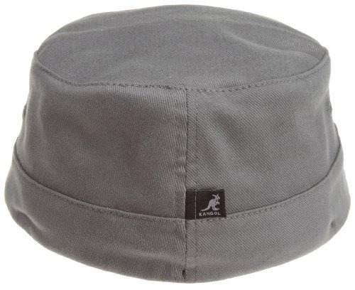 gorra de sarga del ejército kangol para hombres, gris, grand
