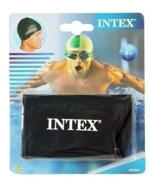 gorra de silicon buceo,natacion marca intex unisex
