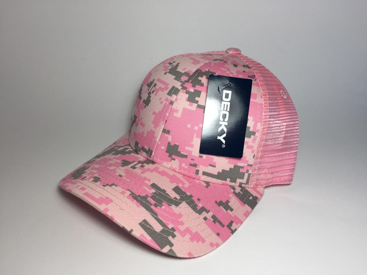 7eed51164c7b Gorra Decky Digital Camu Rosa Para Dama Lisa