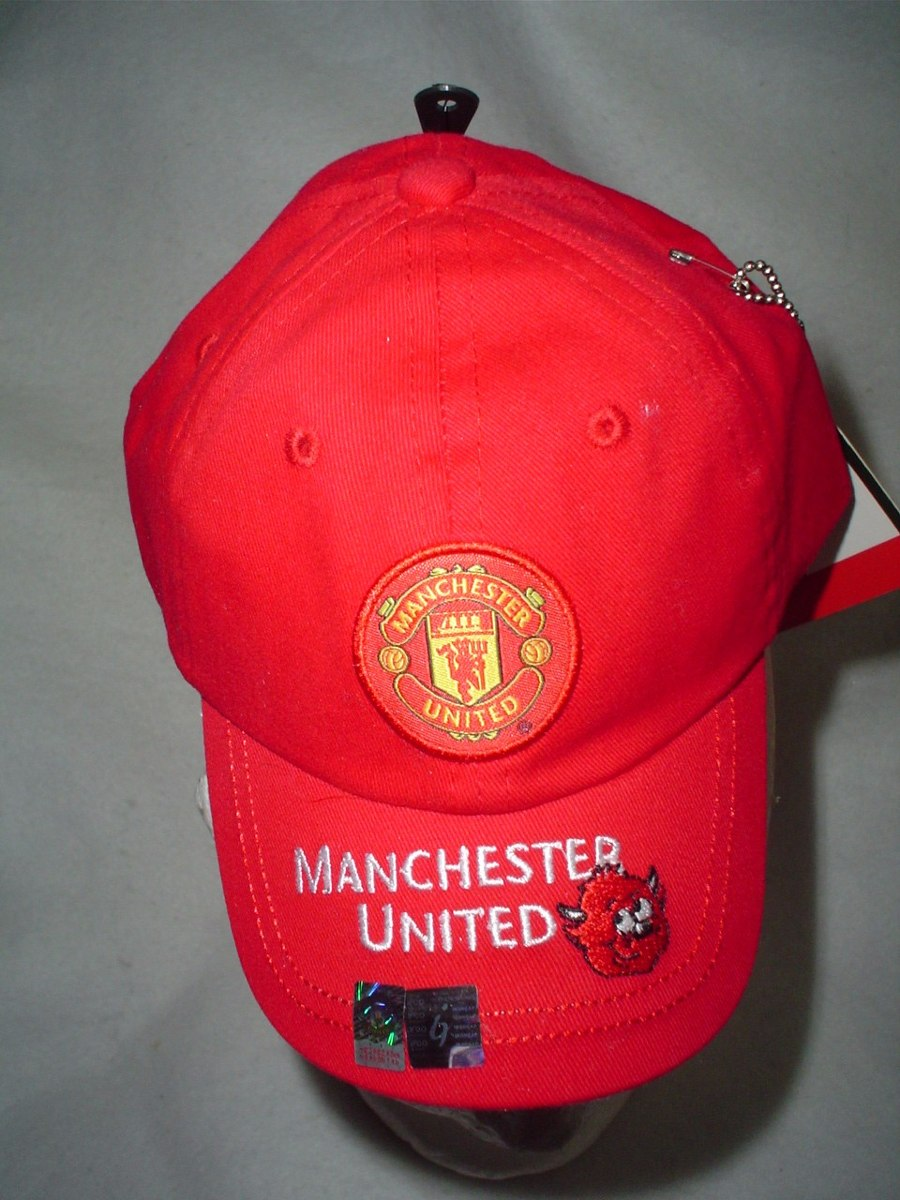 gorra del manchester united roja bebes niños original nueva. Cargando zoom. f1961ef7884