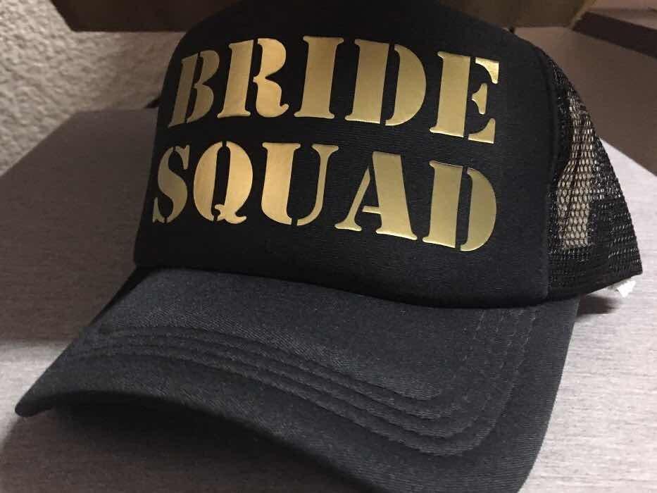 d5ea5f48d296 Gorra Despedida Solrera Team Bride Estampa Letras Doradas
