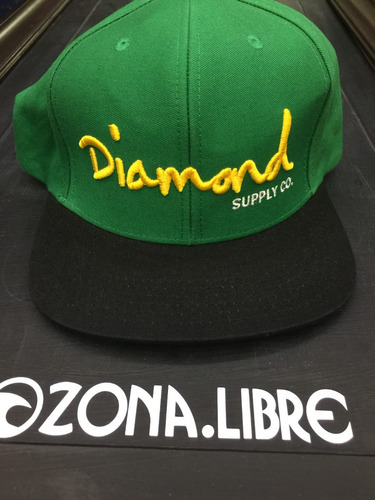 gorra diamond supply co. unitalla originales modelo 58