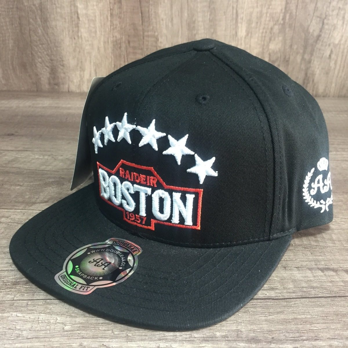 gorra doubleaa 100% original negra boston hombre doble a. Cargando zoom. 9da5695884a